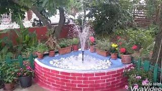 Süs havuzu yapımı