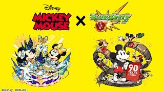 【ミッキーマウス×モンスト】「ミッキー」登場!進化はADW、超AW、SSターン短縮を所持!神化はMSM、ADW、回復M、多数のギミックを無効化する強力な大号令SS!【新キャラ使ってみた|モンスト公式】