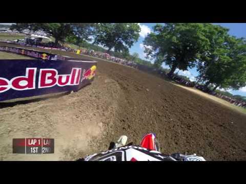 GoPro Cole Seely Moto 1 – Muddy Creek MX Lucas Oil Pro Motocross Championship 2016