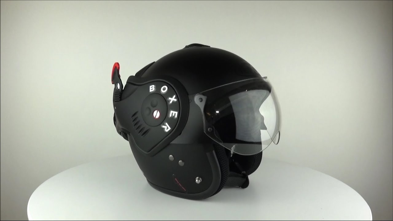 roof boxer v8 matt black helmet. Black Bedroom Furniture Sets. Home Design Ideas