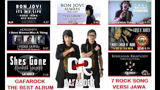 Gambar cover Top 7 GAFAROCK The  Best Rock Album Cover Javanese Version