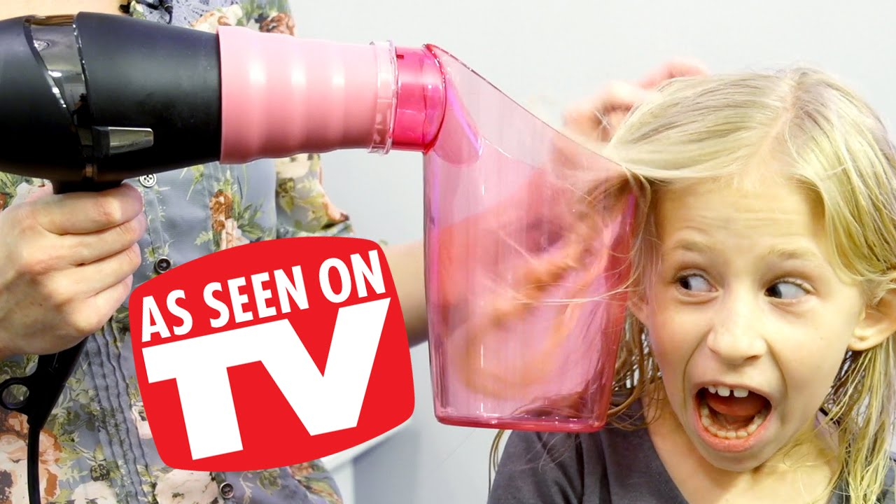 AIR CURLER DOES IT WORK (as seen on TV) - YouTube