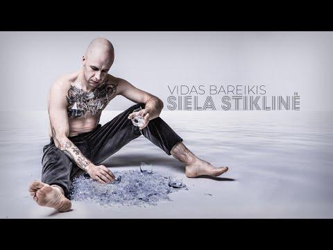 Vidas Bareikis - Siela stiklinė (Lyrics Video)