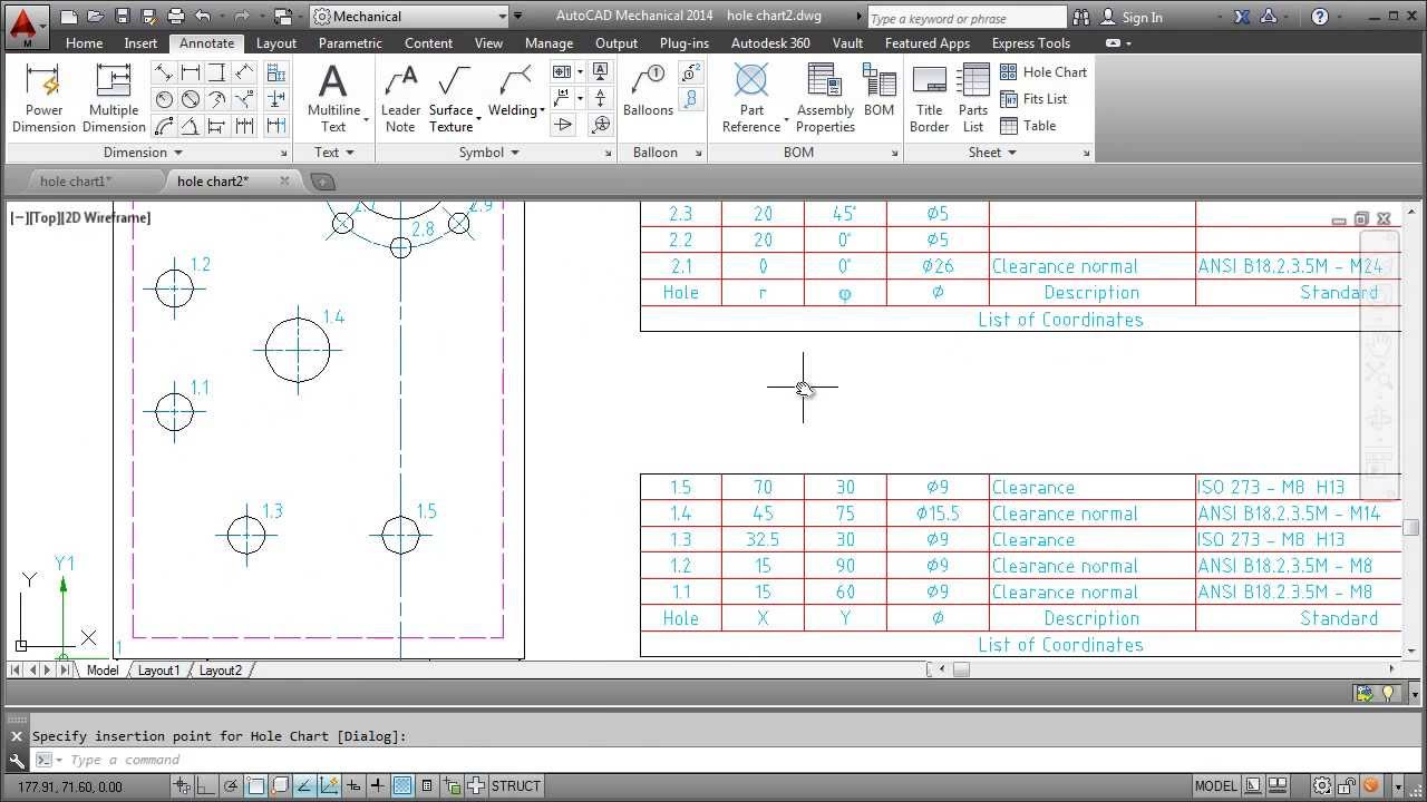 how to add coutning labels in autocad
