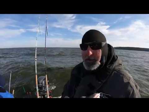 Lake Livingston Winter Catfishing Post Cold Front With Kombatt Karl.