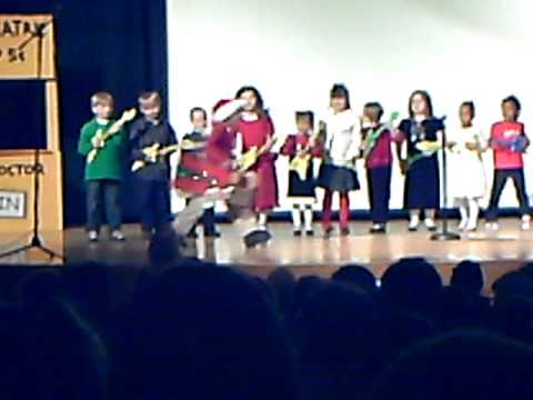 Arbor Academy Charlie Brown Christmas 1st grade Song