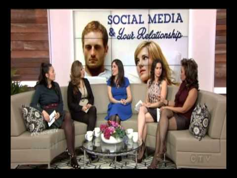 Andrea Syrtash on 'The Social' Canadian Talk Show