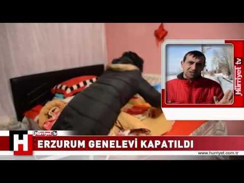 Erzurum Genelevi Kapatıldı