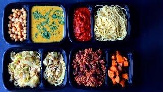 Vegan Meal Prep $23 - 5 Full Days (2 Menus)
