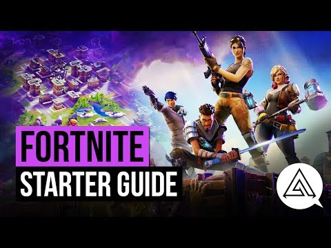 FORTNITE | Starter Guide - Everything You Need To Know To Play Well