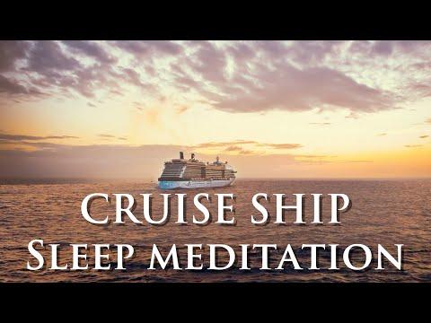 Deep sleep Guided meditation - The Cruise Ship