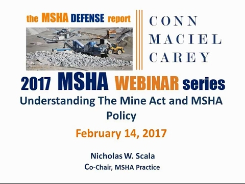 MSHA 101: Understanding The Mine Act
