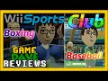 Wii Sports Club Baseball and Boxing Review | Game Dave
