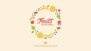 Illustrator For Beginner: Create Fruits Summer