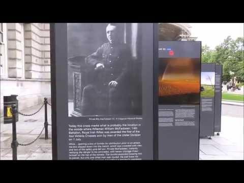 """William Frederick """"Billy"""" McFadzean VC Belfast"""