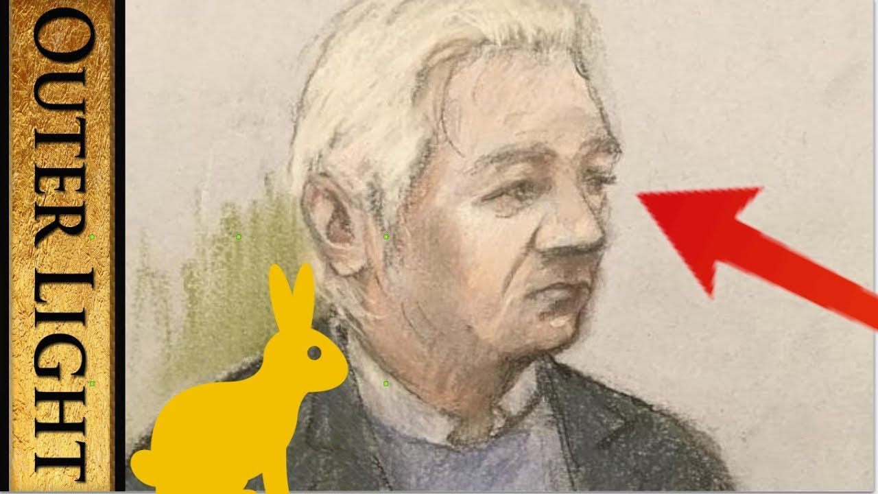 """The Outer Light Julian Assange appears in court, """"mumbles words"""" and """"Cannot think anymore"""""""
