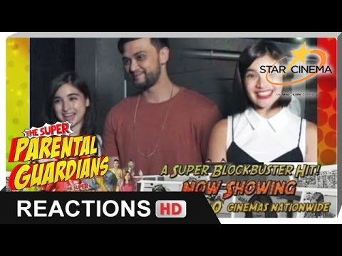 Reactions | Billy Crawford, Coleen Garcia, Anne Curtis | 'The Super Parental Guardians'