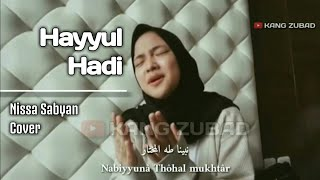 Download Lagu Lirik Hayyul Hadi Nissa Sabyan mp3