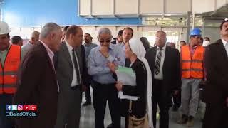 وزير الصناعة يتفقد مدينة الجلود الجديدة «الروبيكي».. فيديو و صور