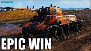 мТ-25 против фулового O-I World of Tanks лучший бой на лт 6 уровня