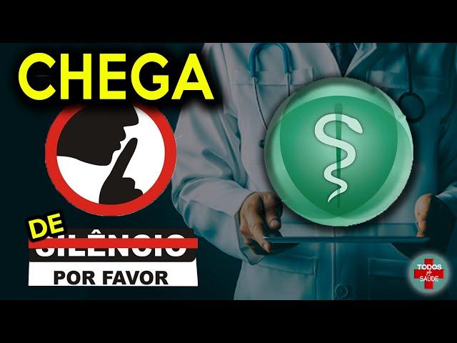 MPF pressiona CONSELHO FEDERAL DE MEDICINA - ELES TERÃO QUE SAIR DO SILÊNCIO