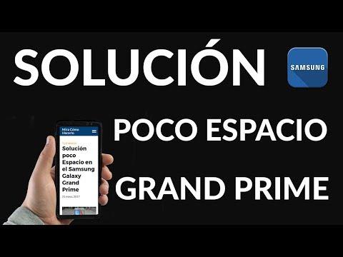 Solución poco Espacio en el Samsung Galaxy Grand Prime