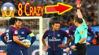 New neymar jr all red cards  in career crazy & stupid | full hd