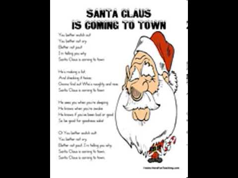 picture relating to Printable Christmas Songs identified as xmas audio lyrics printable