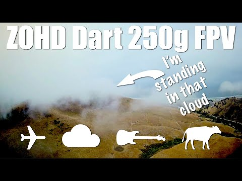Фото Flying With My Head In The Clouds - FPV with Zohd Dart 250g