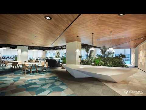 Swiss Bureau Interior Design reveals project for UNBOX; a creative incubator