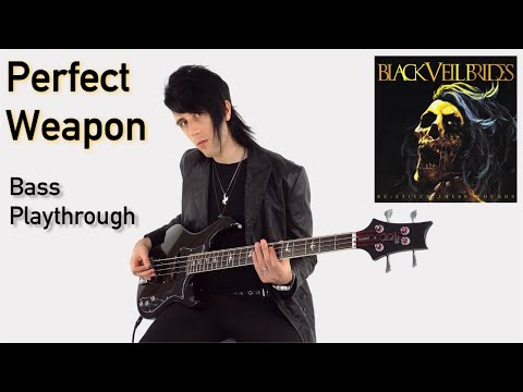 """Black Veil Brides   """"Perfect Weapon"""" Playthrough   ReStitch These Wounds"""