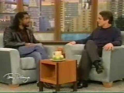 Naveen Andrews on the Tony Danza