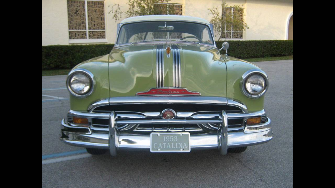 1953 Pontiac Custom Catalina  YouTube
