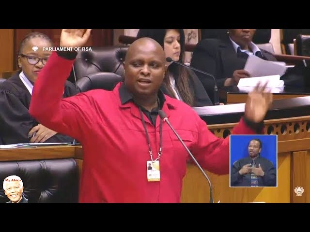 "Floyd Shivambu Telling The Truth About ""Africa Day"""