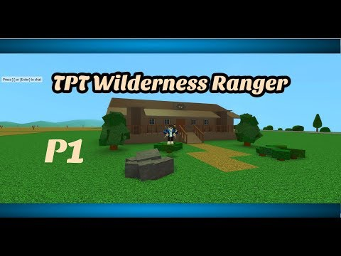 Roblox Theme Park Tycoon (Part 1)|Wilderness Ranger Building|