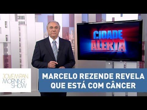 Em entrevista, Marcelo Rezende revela que está com câncer no pâncreas   Morning show