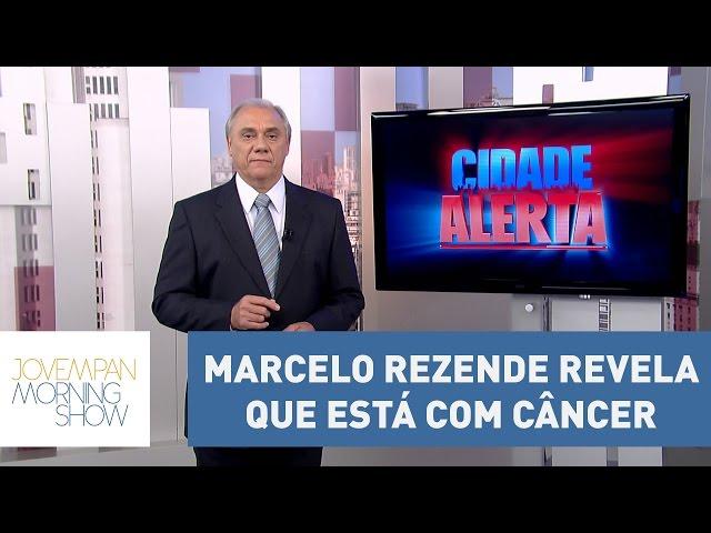 Em entrevista, Marcelo Rezende revela que está com câncer no pâncreas | Morning show