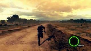 Resident Evil 5 PC - Wesker Running in Savanna