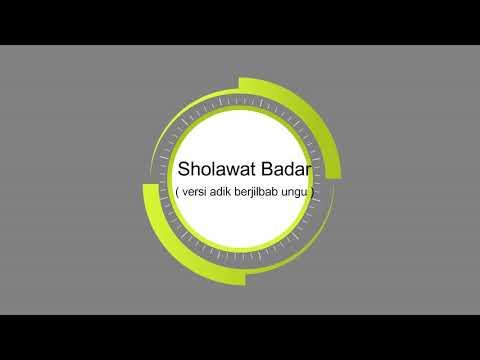 Oy adek berjilbab ungu (Versi Sholawat)