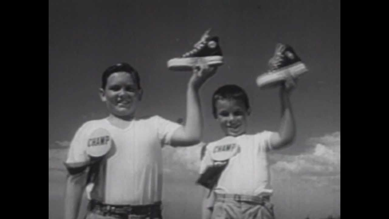 Keds Shoes Commercial (1950s) - YouTube