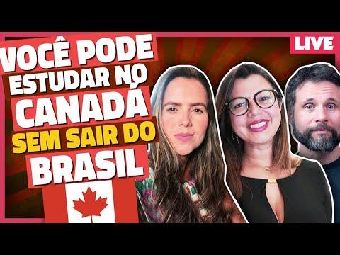 COMO ESTUDAR NO CANADÁ SEM SAIR DO BRASIL [LIVE]