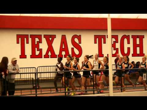 Womens 3000 Meter - Lone Star Conference Indoor Championship