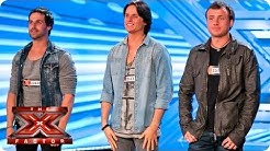 Next of Kin sing original song Can't Find Me - Room Auditions Week 3 - The X Factor 2013