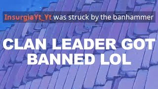 I tried out for a Fortnite Clan and HE got BANNED during Playgrounds fill...