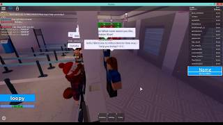 Day in the life of a HH receptionist- ROBLOX