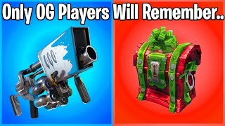 10 THINGS ONLY CHRISTMAS FORTNITE PLAYERS WILL REMEMBER (season 2 fortnite)