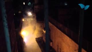 התקפת זיקוקים על בתי יהודים בעיר העתיקה