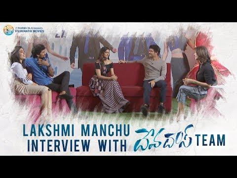 Lakshmi Manchu With Team #DevaDas Full Interview - Nagarjuna, Nani, Rashmika, Aakanksha Singh