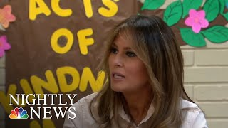Melania Trump Makes Unannounced Visit To Texas Amid Family Separation Crisis | NBC Nightly News
