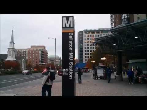 Ballston-MU Metro Station - Washington DC Metro Orange/Silver lines